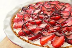 Strawberry Cream Pie!!