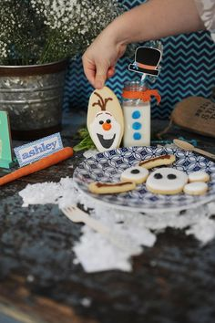 Disney's Frozen Party with So Many Cute Ideas via Kara's Party Ideas KarasPartyIdeas.com #FrozenParty #Frozen #Disney