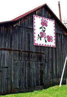 Quilt Barn http://www.ohiobarns.com/otherbarns/quilt/oh/QtB35-66-01.html