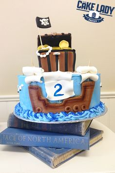 Pirate Birthday Cake – Sioux Falls Bakery