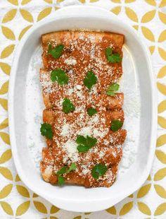 Recipe: Enchiladas de Pipián Rojo — Recipes from The Kitchn