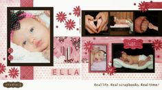 Studio J digital layout by Brenda Rose
