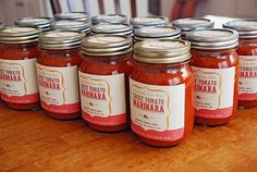 free printable labels for canning or food gifts