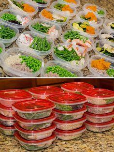 Meal Prep Day [ SkinnyFoxDetox.com ] #food #skinny #health
