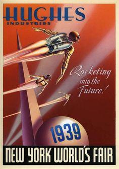 Worlds Fair 1939, New York poster.