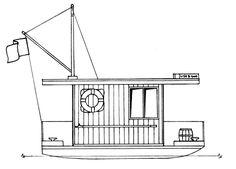 Free shanty boat plans