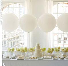 White white white wedding