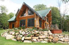 More log cabins