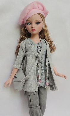 """ooak outfit for Ellowyne made by SSDesigns"" #pinterest #fashion #dolls ^kv"