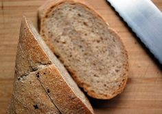home made whole wheat baguette