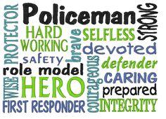 polic thing, law enforc, subway art, hero, polic wife