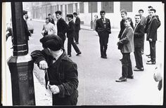 Teddy boys,Princedale Road, London, 1956
