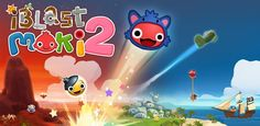 iBlast Moki 2 - Really fun and cute puzzle game! puzzl game, android game