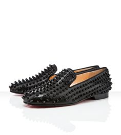 Spikes, spikes and more SPIKES! #christianlouboutin