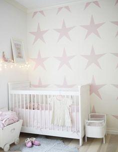 Nursery for Girl! Stars #laylagrayce #baby #nursery