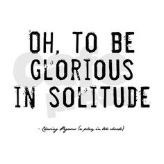 solitud, thought, quot