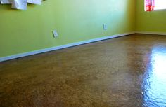 My New Brown Paper Flooring...pretty cool stuff {Stop Staring And Start Sewing}