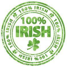 I am 100 % Irish- well I am on St. Patrick's Day- and About.com has awesome Irish clip art to help celebrate the day.