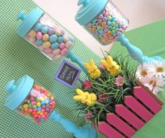 You can make these candy jars