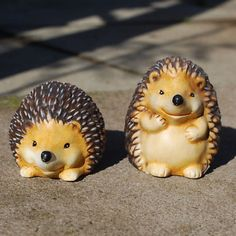 Terra Cotta hedgies for the garden.