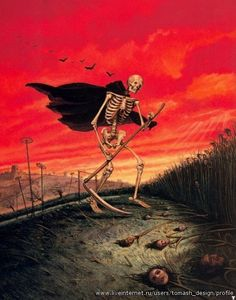Reaper Man - Josh Kirby (1928 - 2001)