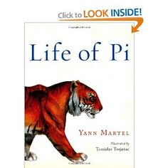 To read on pinterest for Life of pi family