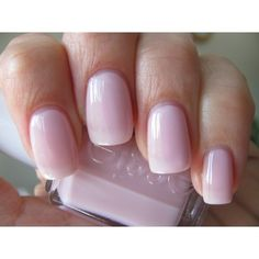 Better Together -Essie Nail Polish   Looking for a perfect pale pink essi, nail polish, makeup, better togeth, wedding colors, beauti, cancer ribbons, nails, hair