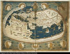 Mapa Vientos   #old map #i love maps #map #winds