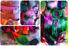 HANDMADE holiday tutorial...RECYCLED christmas tree by Traci Bautista