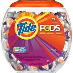 Tide Pods Spring Meadow Detergent, 72ct