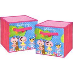 MGA Lalaloopsy Storage Cubes, 2-Pack