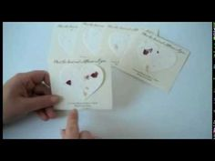 Heart Plantable Seed Memorial Cards. The heart contains wildflower seeds and when they are planted, beautiful wildflowers grow in memory of your loved one. The cards are printed with the name of the departed and are handed out at the funeral or memorial service http://www.nextgenmemorials.com/seedcardheart.html  #funeral gift, #funeral favor, #plantable funeral heart card.