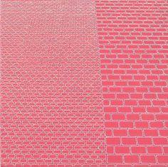 Sara Eichner-'pink bricks + CMU'-Sears-Peyton Gallery