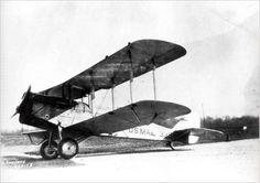 De Havilland DH-4 plane by the National Postal Museum