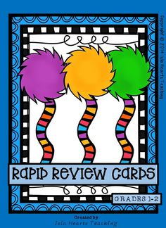 "RAPID REVIEW CARDS are designed to be used in all those ""in between"" times, e.g. waiting in lines, waiting for other classes to arrive, waiting for students to unpack, in the last few minutes before the bell… RAPID REVIEW CARDS allow teachers to utilize the ""in between"" time by simply selecting one of the 150 cards and posing the review question to their students. Not only are the cards fun (my class loves them), but they also cover a range of subject areas!"