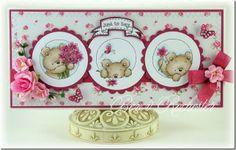 bear, card idea, valley stamp, lili, lotv, card design, cardmak, imag, valley card