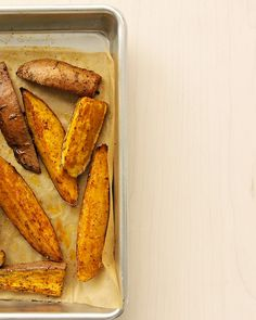 Chili Roasted Sweet Potato Wedges