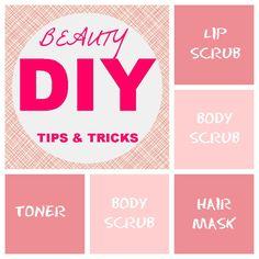 DIY Beauty Tips & Tricks #beauty