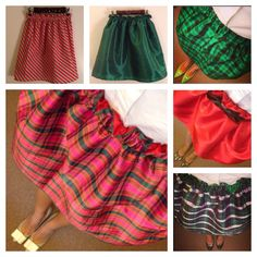 The cutest skirts EVER!  via Preppy Pink Shop: https://www.etsy.com/shop/PreppyPinkShop
