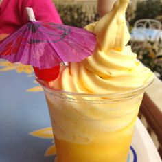 A Dole Whip Float from Disneyland. Deliciously sweet, tart, cool and refreshing.--these are incredible!!! ms