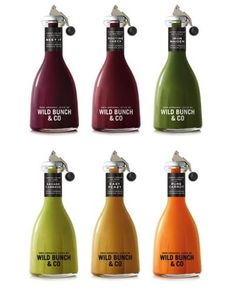 Wild Bunch & Co. Organic Juices. I am not sure how this bottle works but it looks super interesting.