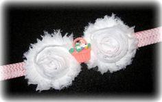 Easter Bunny Basket Pink White Chevron by MyBellaBellaBowtique, $6.50