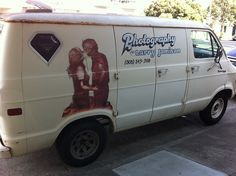 A windowless van and a guy who takes pictures. That's not sketchy or anything...