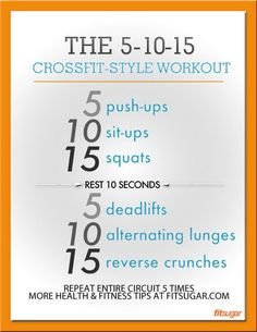 Beginner CrossFit Workout.
