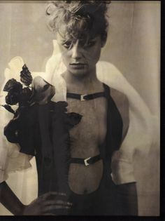 Amber Valletta (Photography by Paolo Roversi)   2001