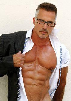 Dino Hallas  #bodybuilder #model #DinoHallas #abs #pecs #glasses