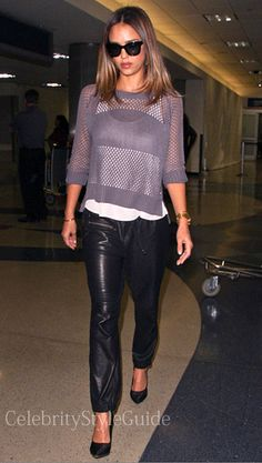 Jessica Alba Style and Fashion - Heartloom Heartloom Sonia Sweater Seen On Jessica Alba on Celebrity Style Guide