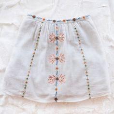Embroidered skirt - Antik Batik