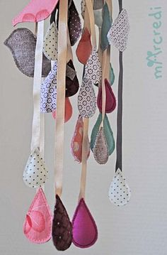 so cute; good use for scrap fabric