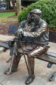 Statue in downtown Decatur, Georgia